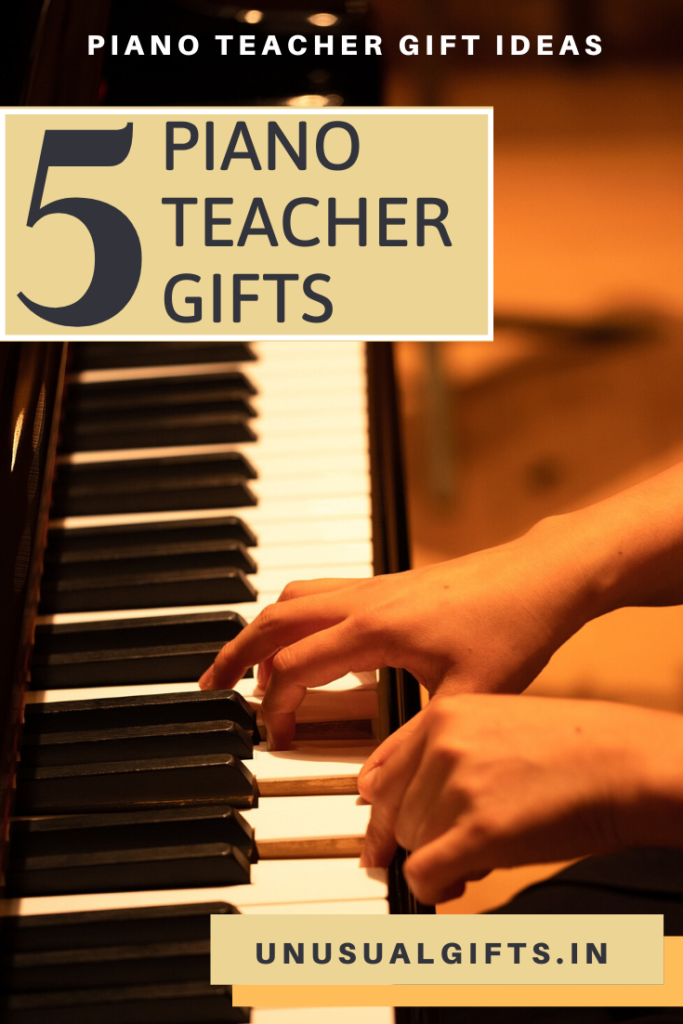Piano teacher gifts