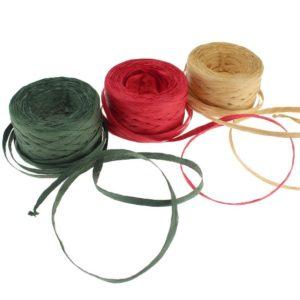 Ribbon Strings - Eco Friendly Christmas Tree Ideas