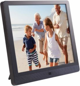 Wi-Fi Cloud Digital Picture Frame with IPS