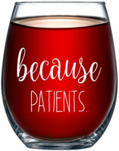 Wine glass - Sonographer gifts