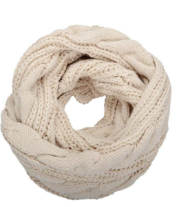 Winter Infinity Circle Loop Scarf
