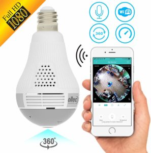 Wireless Smart spy Bulb Camera
