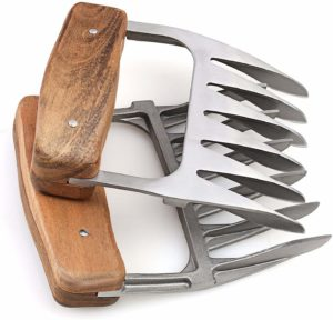 Metal Meat Claws - Wooden Christmas gift ideas
