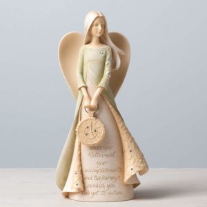 Angel Stone Resin Figurine - retirement gift ideas for principals